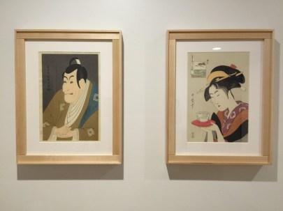 Ukiyo-e dovetail corner art frame