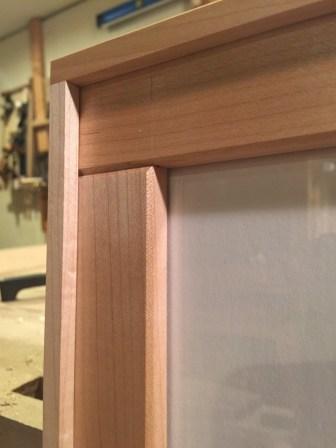 dovetailed corner art frame