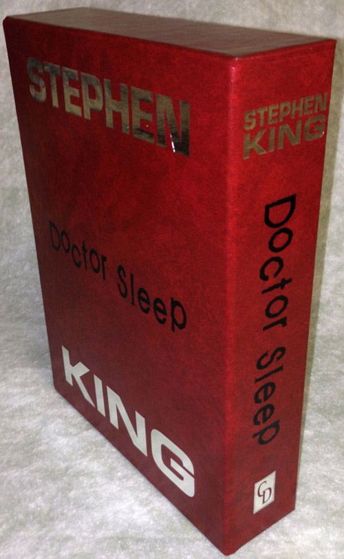 Doctor Sleep by Stephen King Gift Edition Slipcase