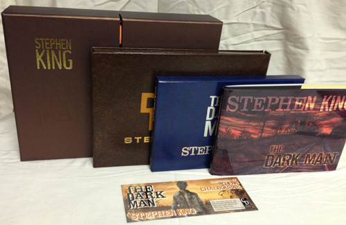 The Dark Man by Stephen King Deluxe Editions