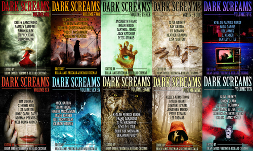Dark Screams eBook Covers