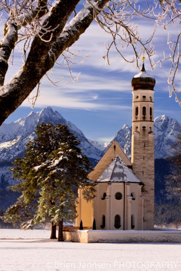 Bavaria Saint Coloman Church Fussen Allgau Schwangau Germany