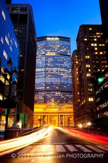 Grand Central Terminal Manhattan MetLife Building New York City