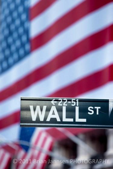 Wall Street New York City Stock Exchange Manhattan