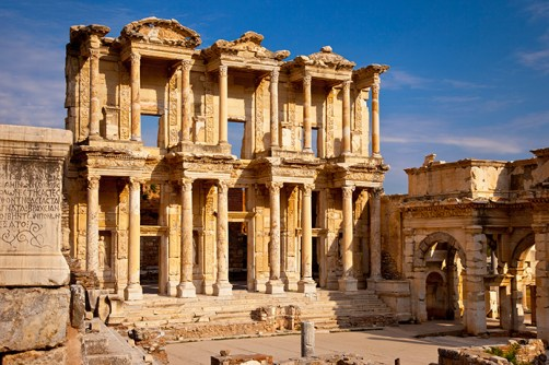 Ephesus Library of Celcus Turkey Ruins
