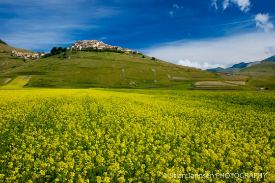 Castelluccio Umbria Italy Piano Grande Photography Tour workshop