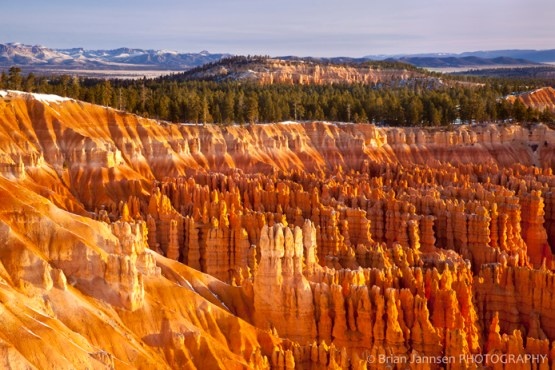 Sunrise Inspiration Point Bryce Canyon National Park Utah