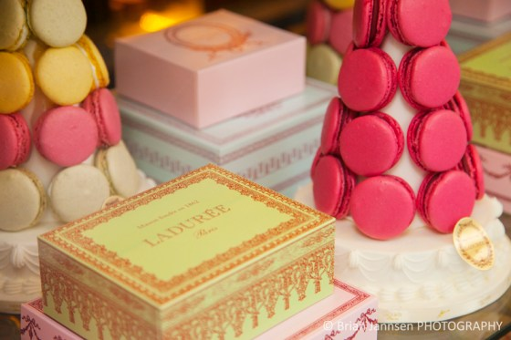 Window display Laduree Bakery Patisserie Tea Shop Saint-Germain-des-Pres Paris France