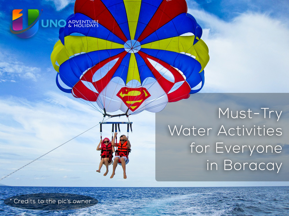 Must-Try Water Activities for Every Tourists in Boracay