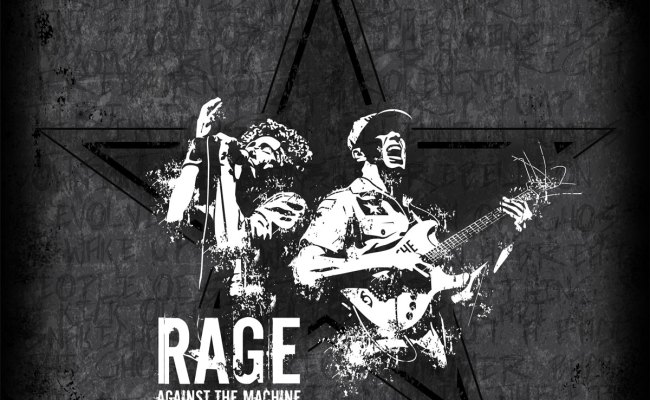 Rage Against The Machine Illustration Brian Lueck Design