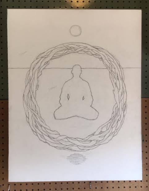 "In Progress: ""Cosmic Meditation"" working title."