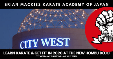 Brian Mackies Karate City West
