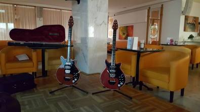 adrian may rs guitars two together