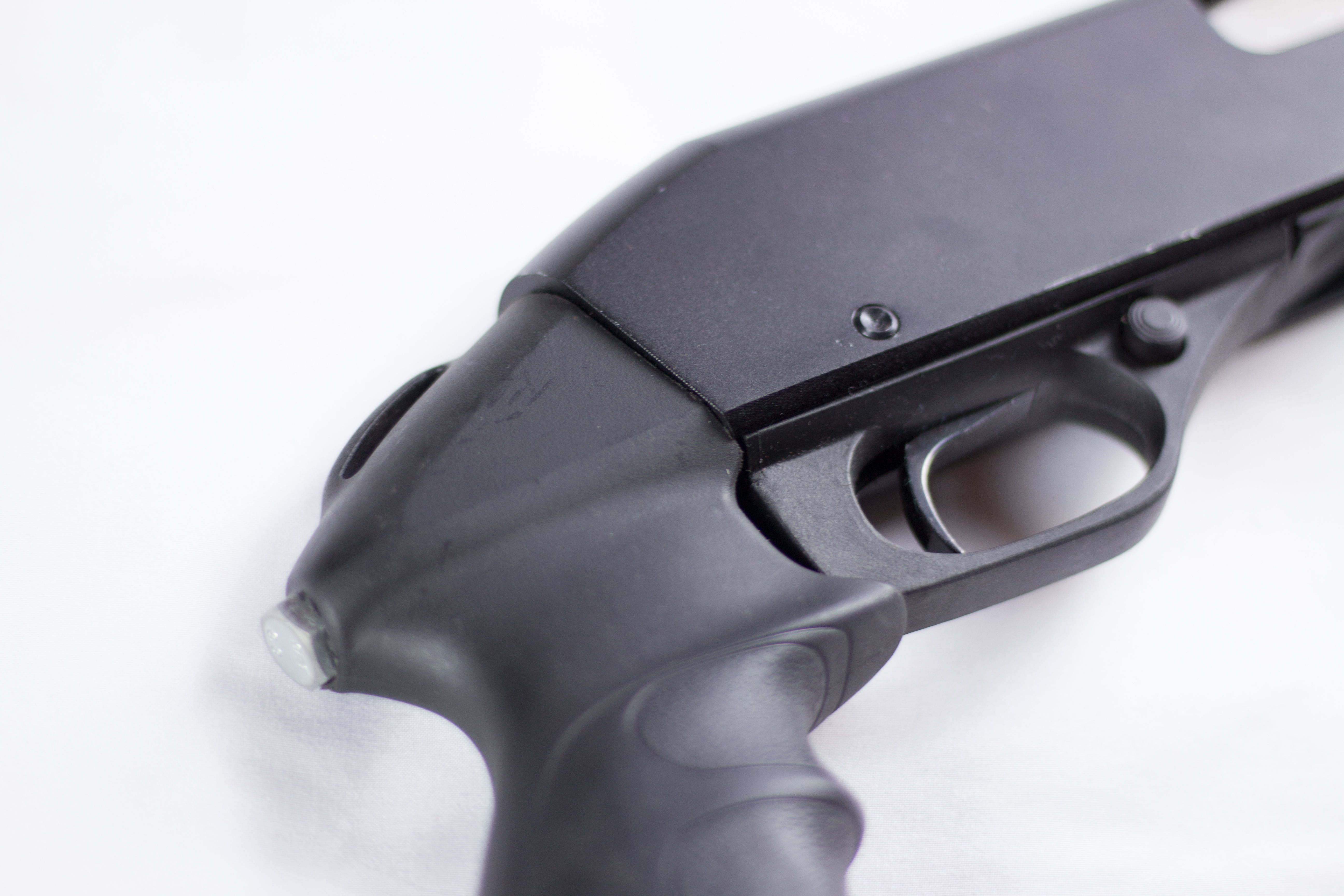 How To Install a Pistol Grip On a Savage Arms Stevens 320 | Brian M