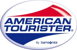 American Tourister Samsonsite luggage logo