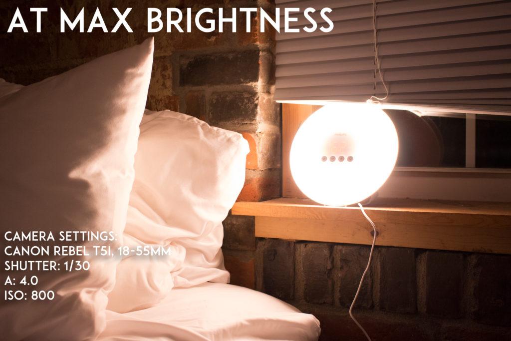 Philips Wake Up Alarm Max Brightness