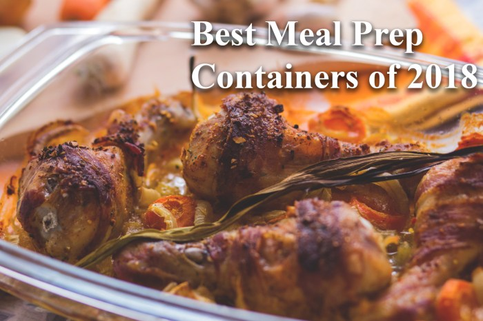 Best Meal Prep Containers - 2018 Buying Guide