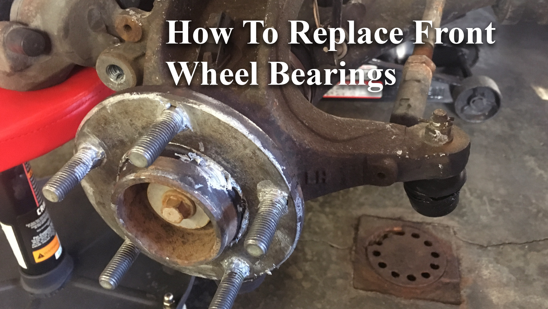 How To Change Wheel Bearing Hub Assembly – 2004 Mazda 3 2.3L