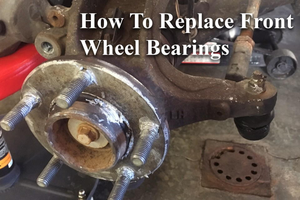 How to replace front wheel bearings 2004 mazda 3