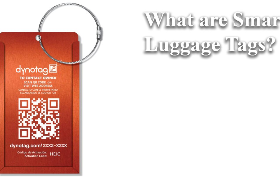What are smart luggage tags