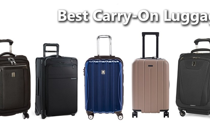Best Carry-on Luggage - 2018 Edition