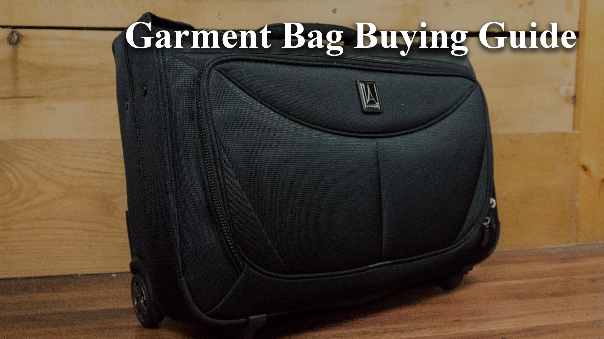 Garment Bag Buying Guide Main