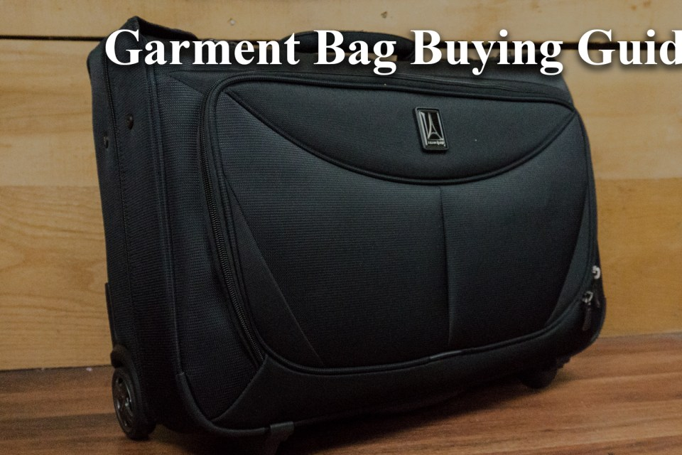 Garment Bag Buying Guide Main