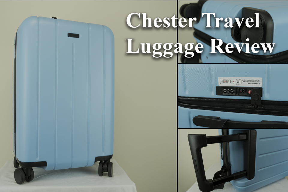 Chester Travel Carry On Luggage Review 2018