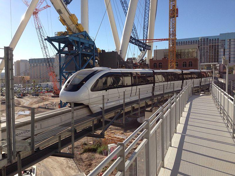 Travel to las vegas monorail