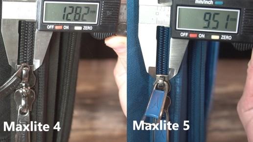 travelpro maxlite zipper size 2