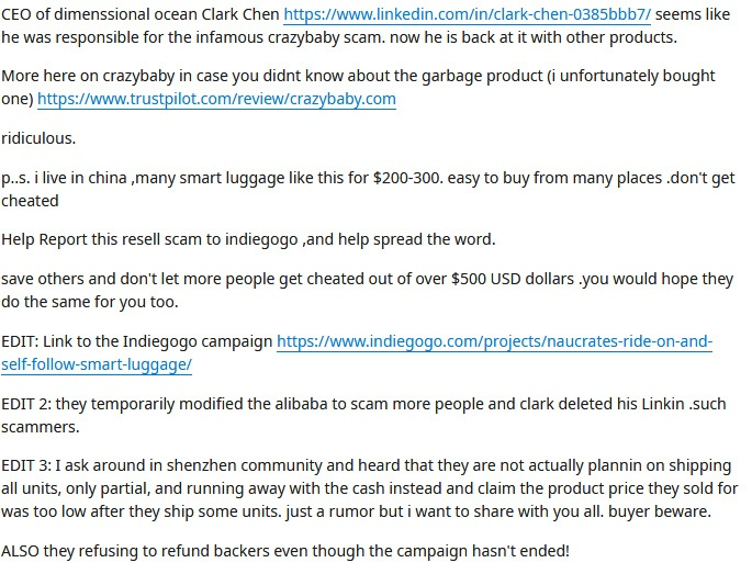 reddit thread naucrates screenshot