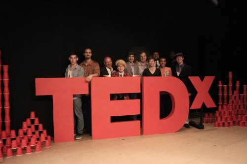 Brian Miller TEDx group photo