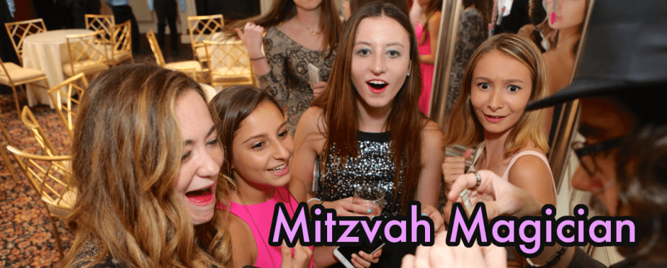 Bar mitzvah magician Brian Miller - Connecticut and New York