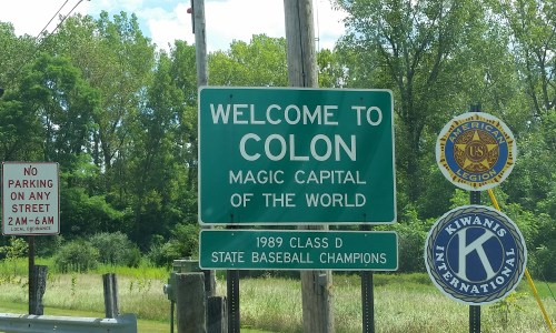 Colon, MI The Magic Capital of the World
