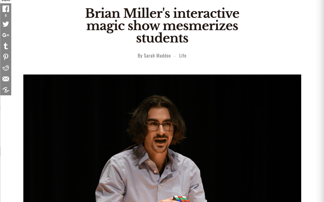 UCONN raves about Brian Miller's magic