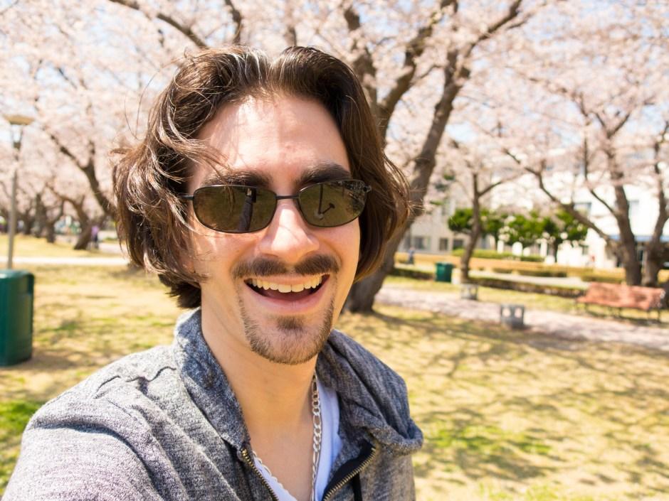 Cherry blossoms in Yokosuka - Magician Brian Miller