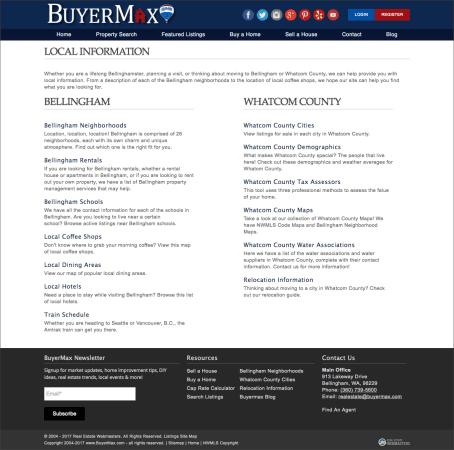 New BuyerMax Local Information