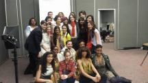 models/designers/stylists group shot