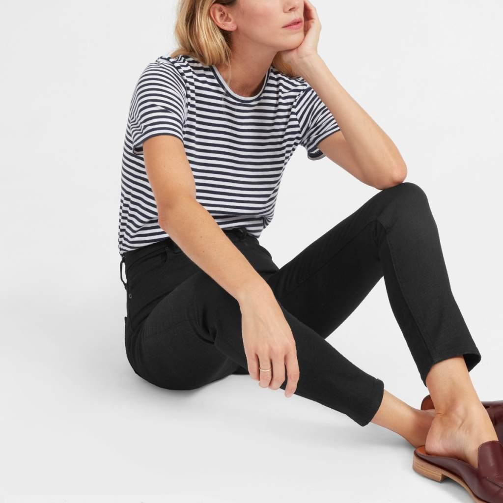 Review of Everlane High-Rise Skinny Jean