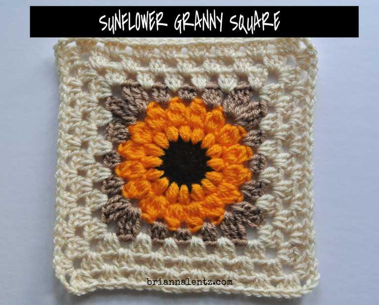 Crochet Granny Square IMG 8