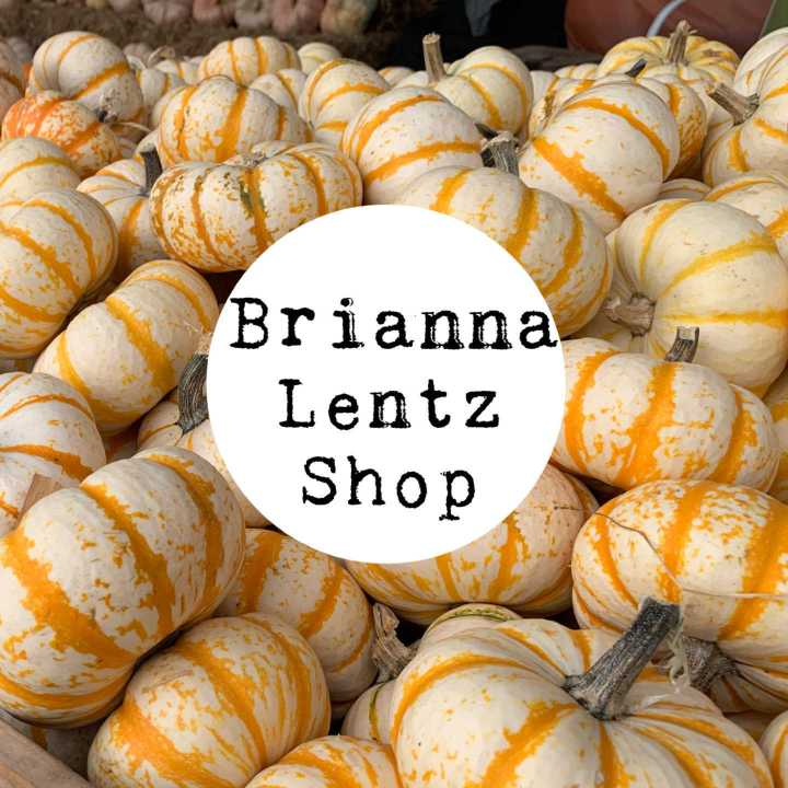 New Items Listed in BriannaLentzShop on Etsy