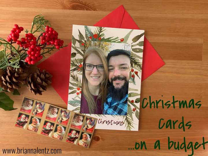 Christmas Cards on a Budget