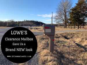 Lowe's clearance Mailbox Main Image