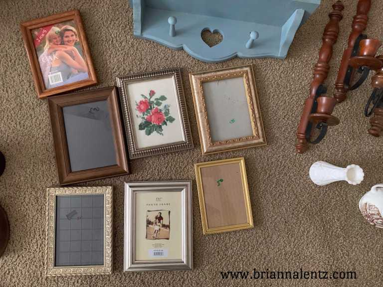 Vintage Frames and Vintage Cross Stitch