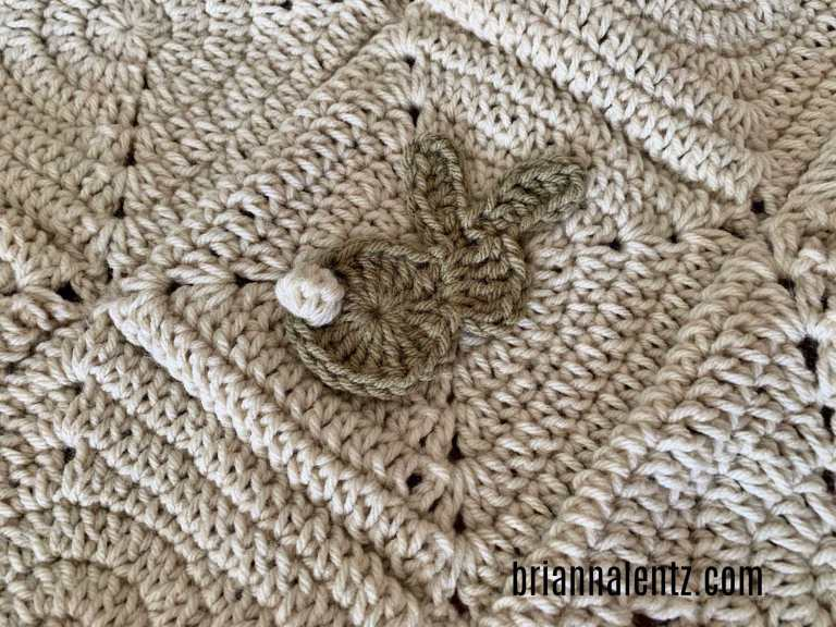 Crochet Bunny Blanket Pic 1