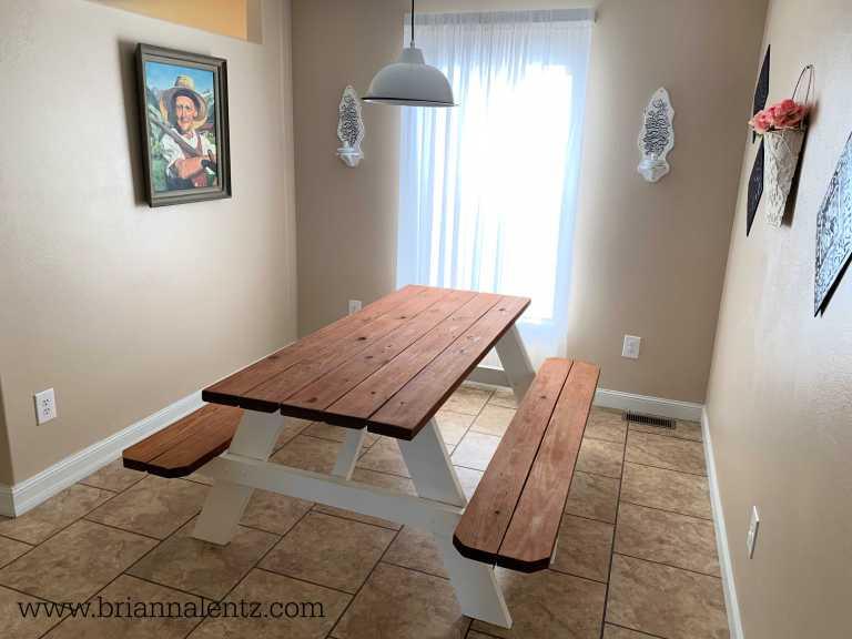 Farm Table DIY Brianna Lentz