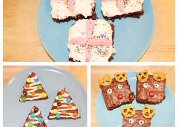 Christmas Brownies and Peppermint Buttercream Recipe