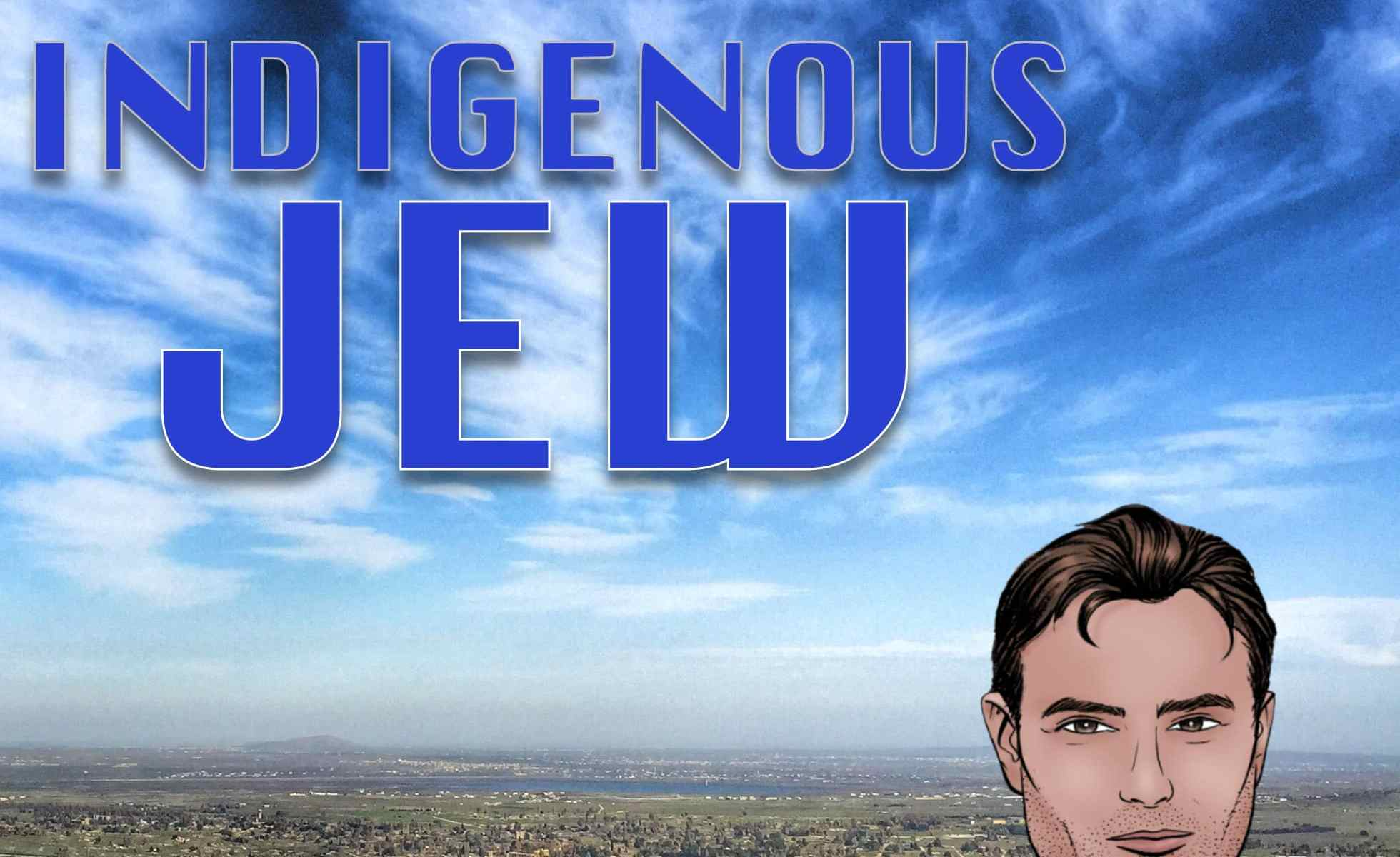 Indigenous Jew Podcast art
