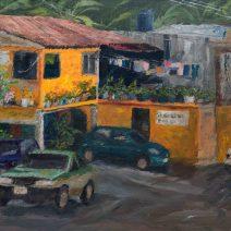 Behind Playa Panteón, 16x20, Oil on linen - $800