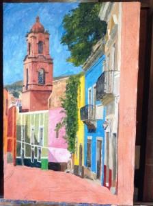 Guanajuato Callejon 2 (In progress)